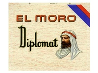 El Moro Cigar Label